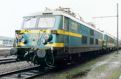 2320 at Antwerp Dam Depot on 18th February 2000
