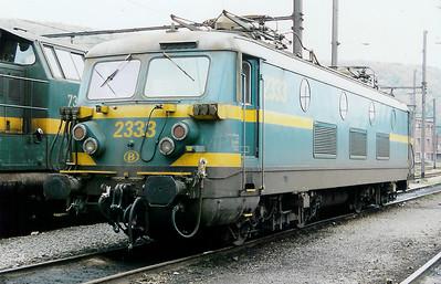 2333 at Kinkempois Depot on 31st October 1998