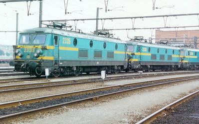 2335 at Merelbeke Depot on 3rd June 2000