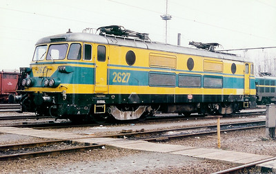 2627 at Schaarbeek Depot on 21st February 1998