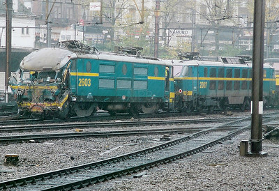 2603 at Namur on 30th October 1998