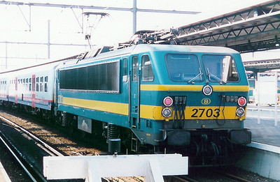 2703 at Oostende on 19th April 1998