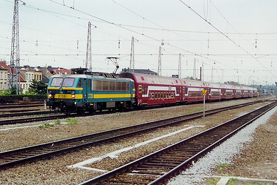 2726 at Brussel Nord on 23rd May 2003