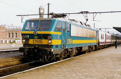 2750 at Gent Sint Pieters 7th November 1998