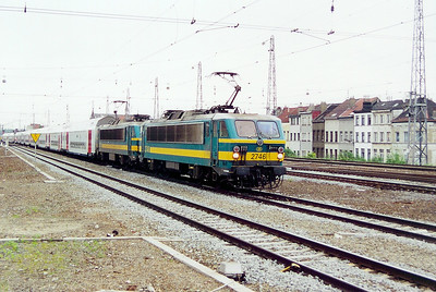 2746 at Brussel Nord on 23rd May 2003