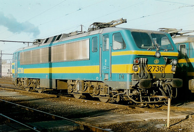 2730 at Schaarbeek Depot on 15th February 1997