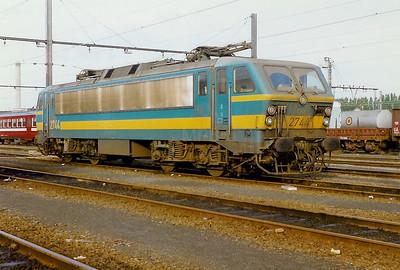 2744 at Schaarbeek Depot on 28th September 1996