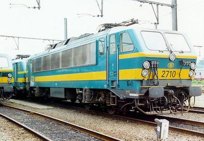 2710 at Kortrijk Depot on 3rd June 2000