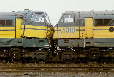 5202 & 5310 at Ronet Depot on 28th September 1996
