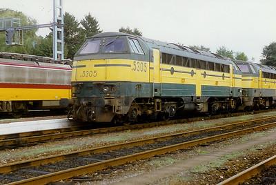 5305 at Virton on 28th September 1996