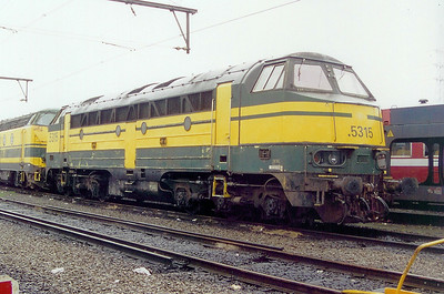 5315 at Schaarbeek Depot on 24th May 2003