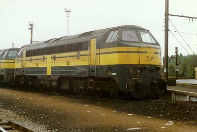 5301 at Stockem Yard on 28th September 1996