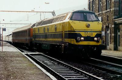 5508 at Rivage on 17th November 1998