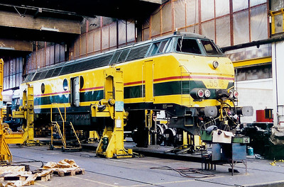 5506 at Schaarbeek Depot on 30th October 1999