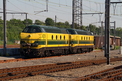 6225 (92 88 0062 025-6B-B) at Leuven on 7th June 2013