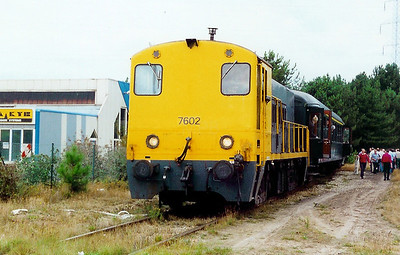 7602 at Overpelt Werkplaatsen on 9th September 2000