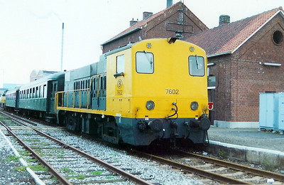 7602 at Tessenderlo on 9th September 2000
