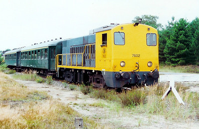 7602 at Lommel (Maatheide) on 9th September 2000