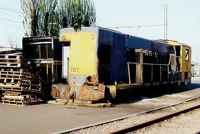 7615 at Schaarbeek Depot on 6th April 2002