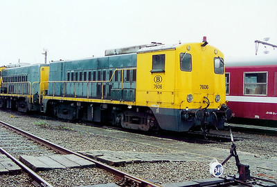 7606 at Schaarbeek Depot on 24th May 2003