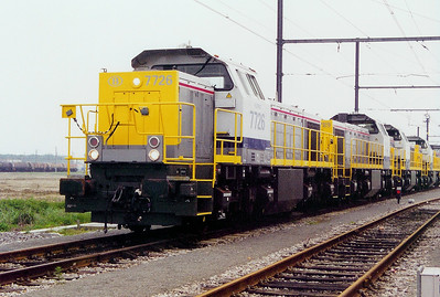 7726 at Antwerp Nord Depot on 24th May 2003
