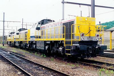 7756 at Kinkempois Depot on 24th May 2003