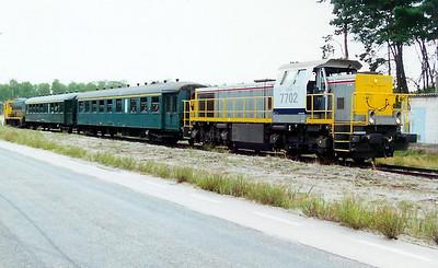 7702 at Lommel (Maatheide) on 9th September 2000