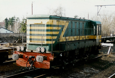 8451 at Muizen Yard on 15th February 1997