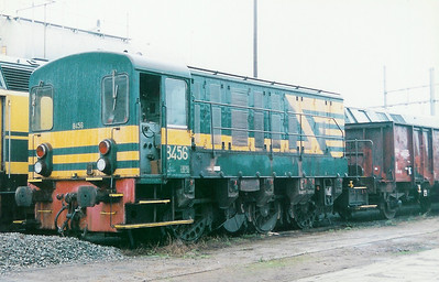 8456 at Antwerp Dam Depot on 21st February 1998