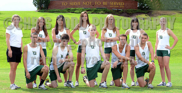 2012 Cross Country Team