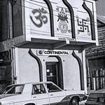Continental Airlines Office & Hindu Temple, Belize City, Belize