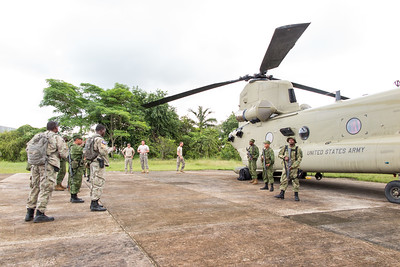 The first day, the BDF showed up and went to work taking pictures in front of the aircraft.