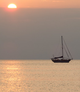 Sailing sunrise