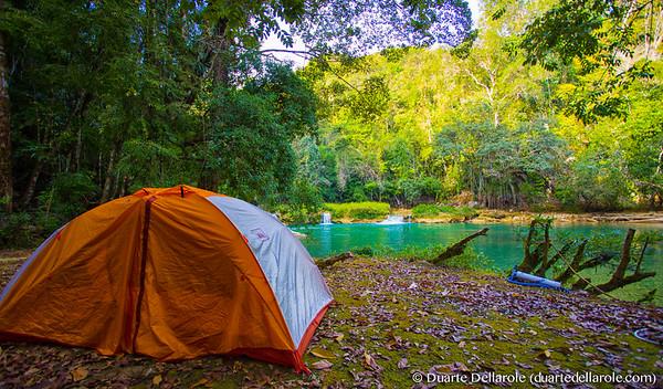 Camping at Moho River