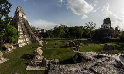 Acropolis at Tikal