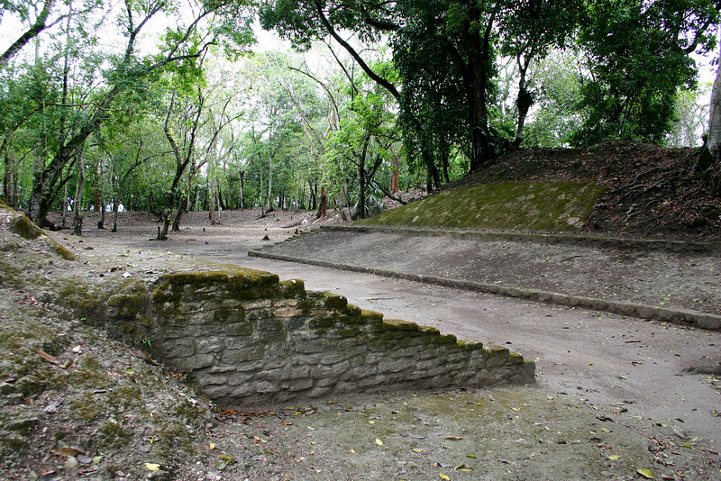 The second ball court.