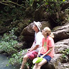 Hike to Twin Falls at Cockscomb