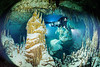 A magical winter wonderland cave dive in Belize