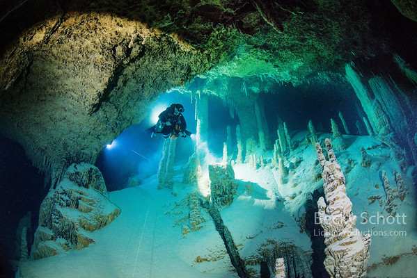 Under the coral reefs of Belize