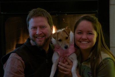 Happy Holidays 2011 Brad, McKinley, and Brigitt