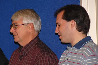 Tom Beason and Jim Oliver