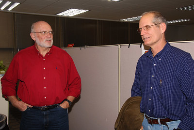 """Ken Burst """"wakes up"""" from retirement to visit Richard and others at the BTAC."""