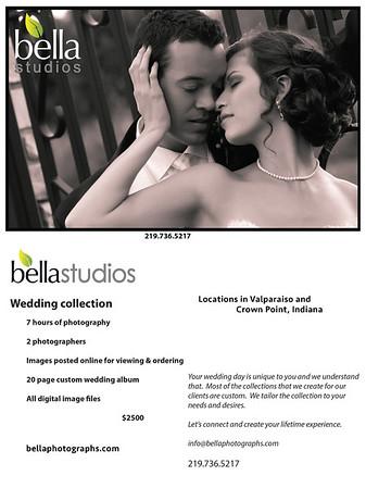 bella bridal show flyer