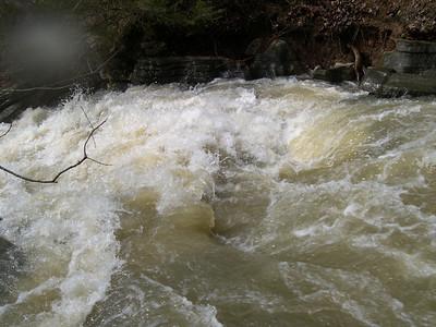 Lake Ann water fall  2008 (15)
