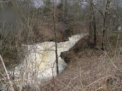 Lake Ann water fall  2008 (4)