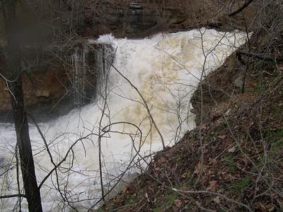 Lake Ann water fall  2008 (5)