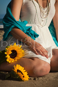 """Sunflowers & Sand"" - Heather Gardner Jewelry Series"