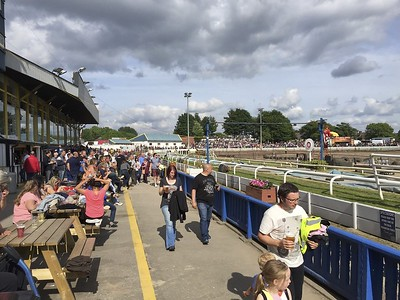 Lots of viewing options at Belle Vue.