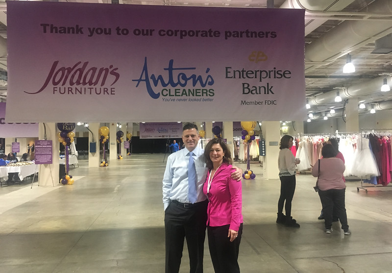 Founder and COO of Anton's Cleaners Arthur Anton Jr. and wife Nina of Carlisle