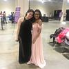 Maria Beltran and Adianez Santana, both of Malden